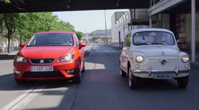 La nuova Seat Ibiza sfida la 600 [Video]