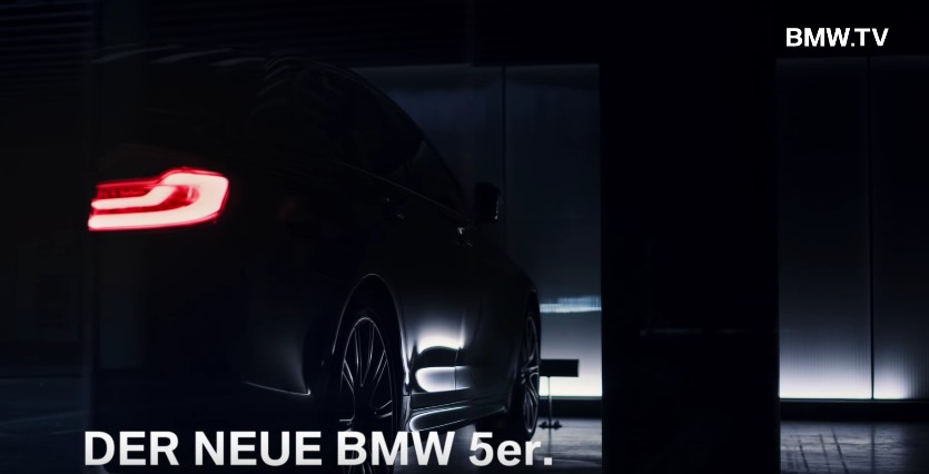 BMW Serie 5 2017: video teaser prima del debutto
