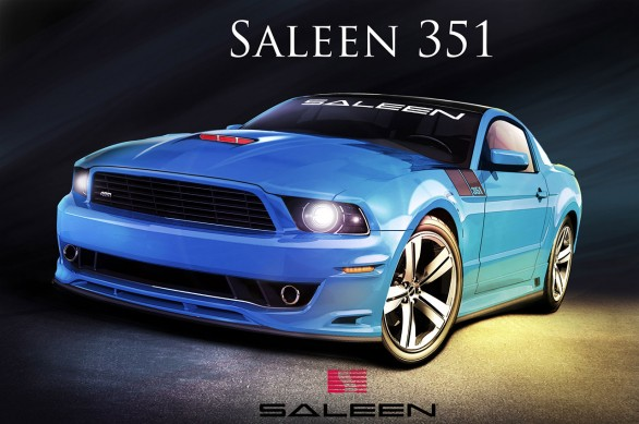 Ford Mustang Saleen 351