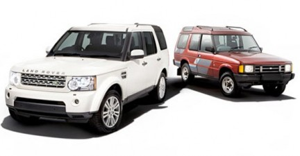 20 anni Land Rover Discovery