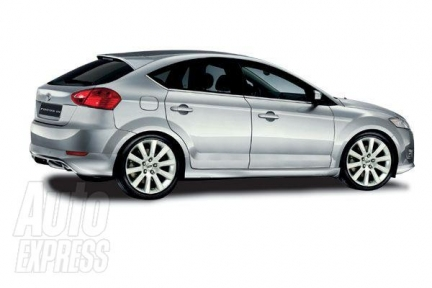 2008 Ford Focus Facelift rendering
