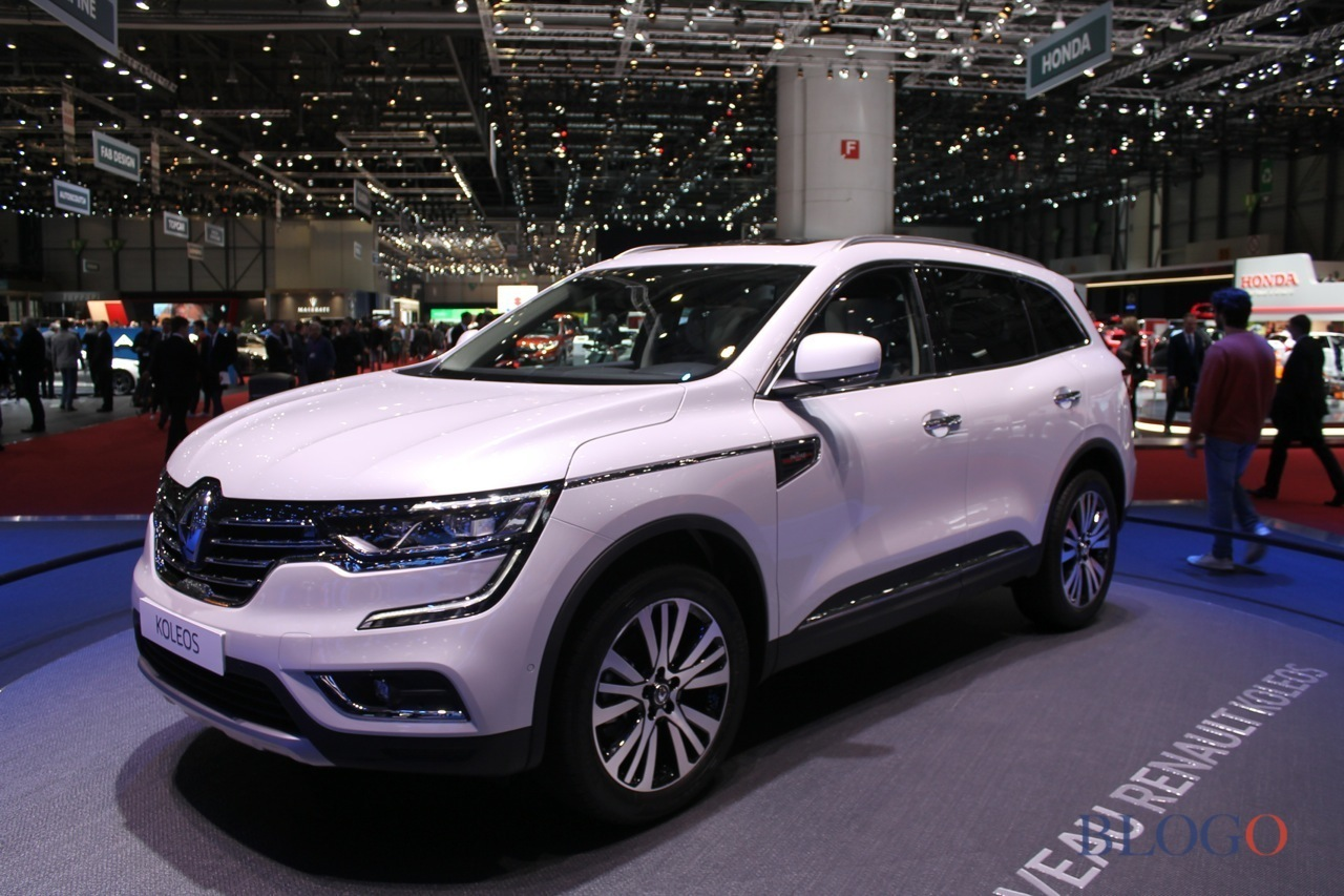 renault koleos salone di ginevra 2017 foto live. Black Bedroom Furniture Sets. Home Design Ideas