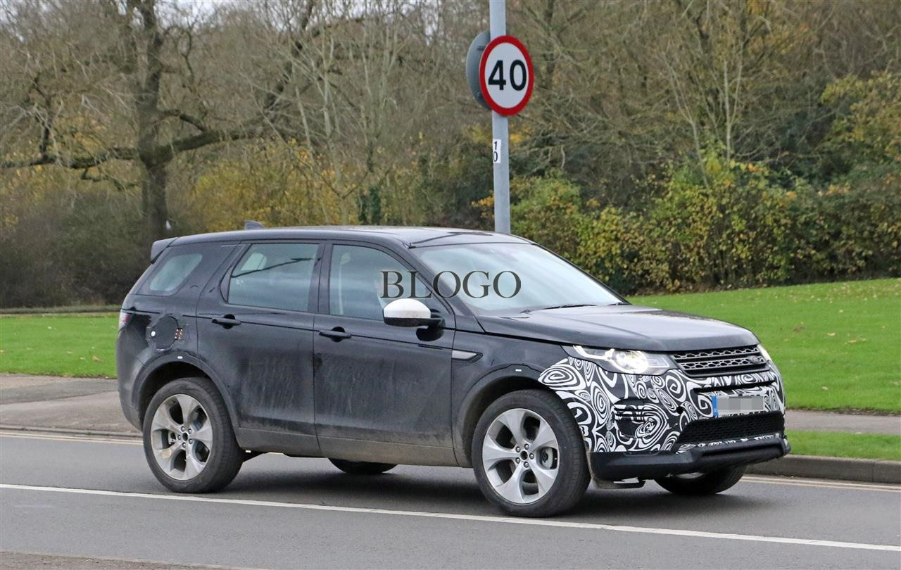 Land Rover Discovery Sport Foto Spia