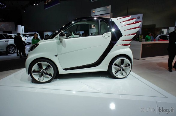 Smart forjeremy al Salone di Los Angeles 2012