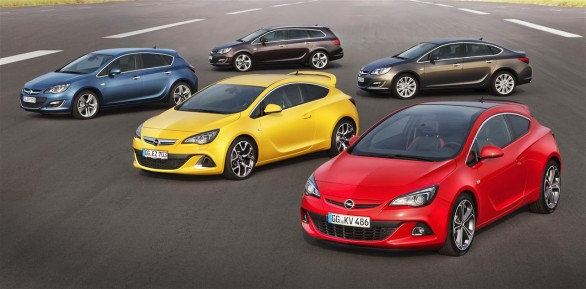Opel Astra lineup