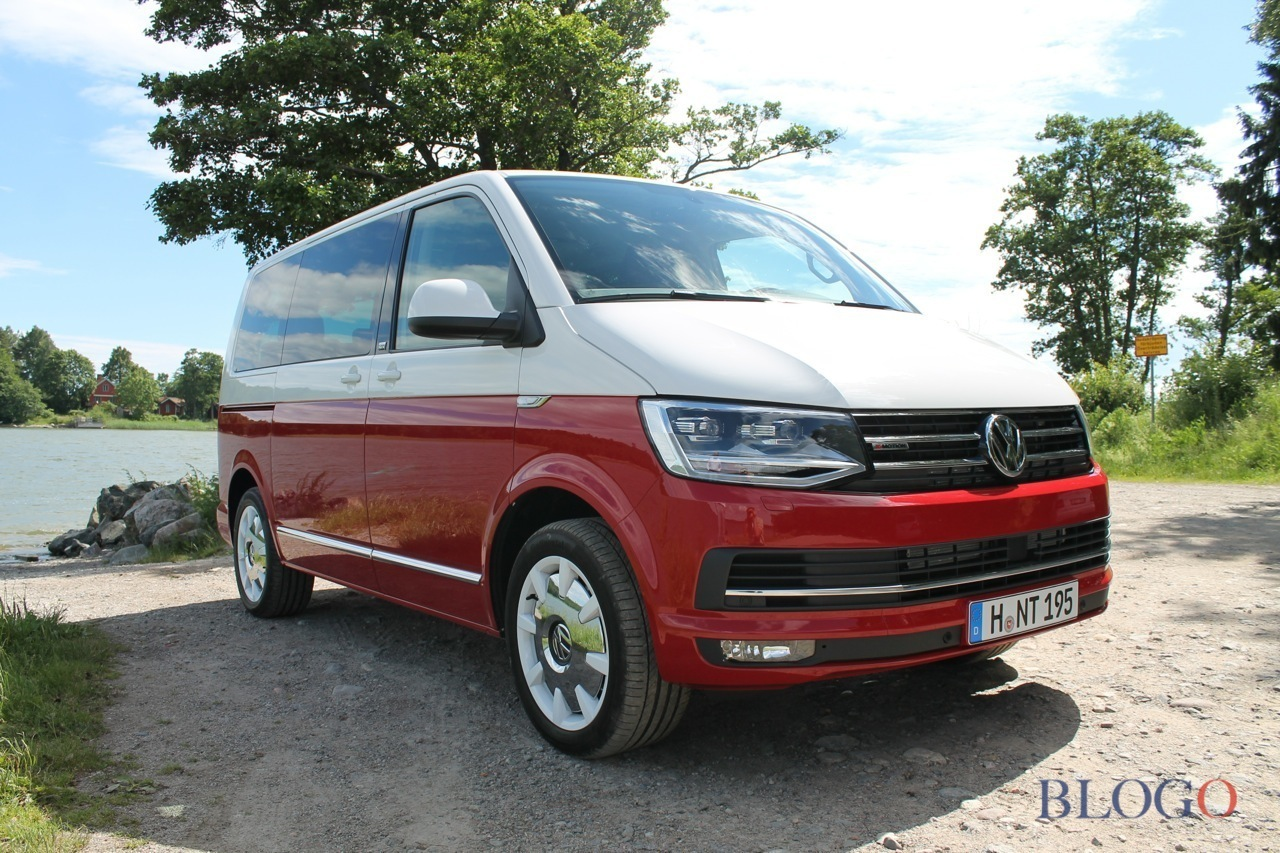 volkswagen t6 multivan prova su strada. Black Bedroom Furniture Sets. Home Design Ideas