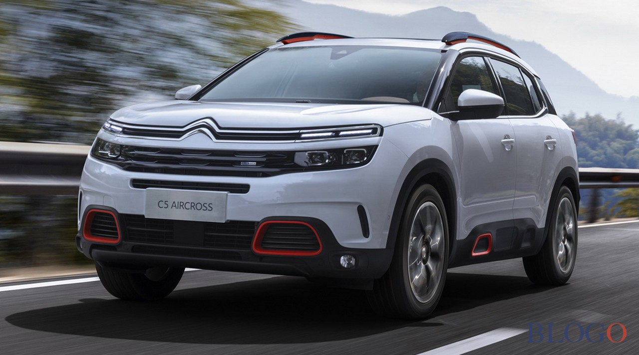 citroen c5 aircross foto suv salone di shanghai 2017. Black Bedroom Furniture Sets. Home Design Ideas