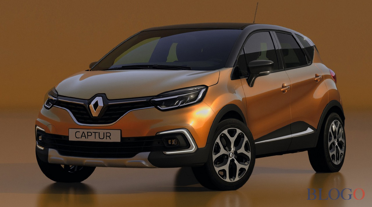 renault captur 2017 facelift foto. Black Bedroom Furniture Sets. Home Design Ideas