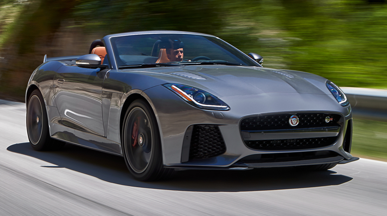 sound jaguar f type svr. Black Bedroom Furniture Sets. Home Design Ideas
