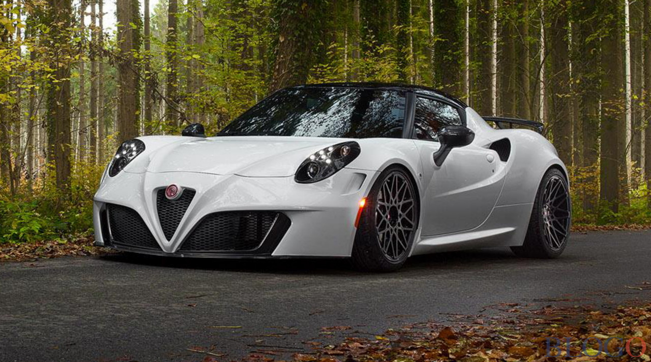 alfa romeo 4c pogea racing foto e caratteristiche. Black Bedroom Furniture Sets. Home Design Ideas