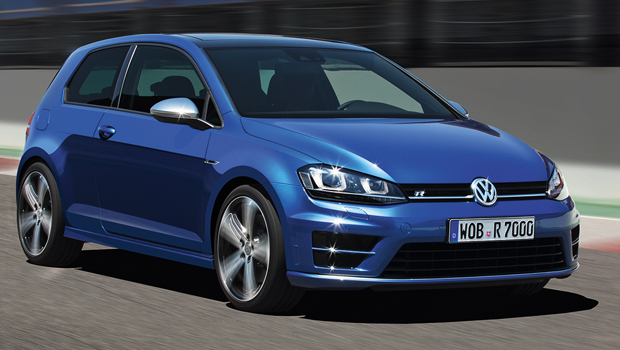 volkswagen golf r immagini ufficiali. Black Bedroom Furniture Sets. Home Design Ideas