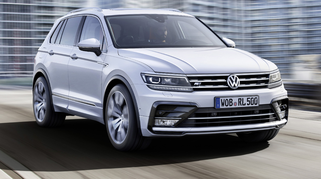 volkswagen tiguan 2016 video. Black Bedroom Furniture Sets. Home Design Ideas