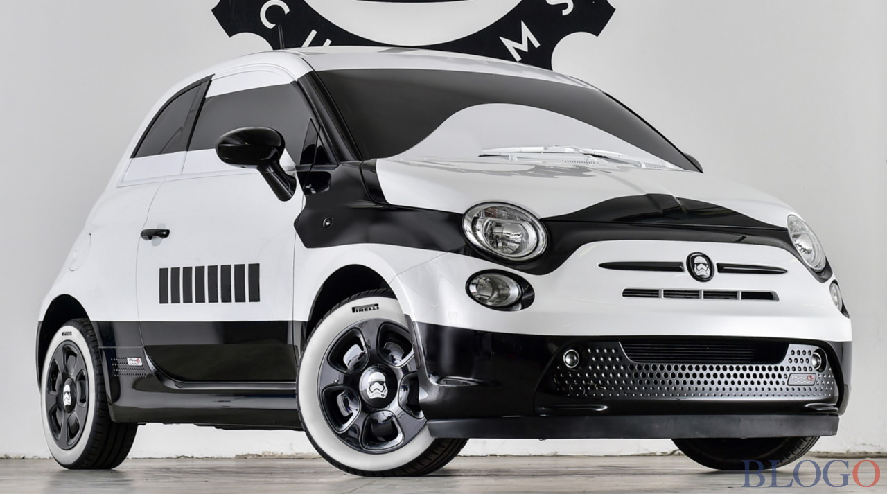 Fiat 500e stormtrooper garage italia customs for Garage fiat 500
