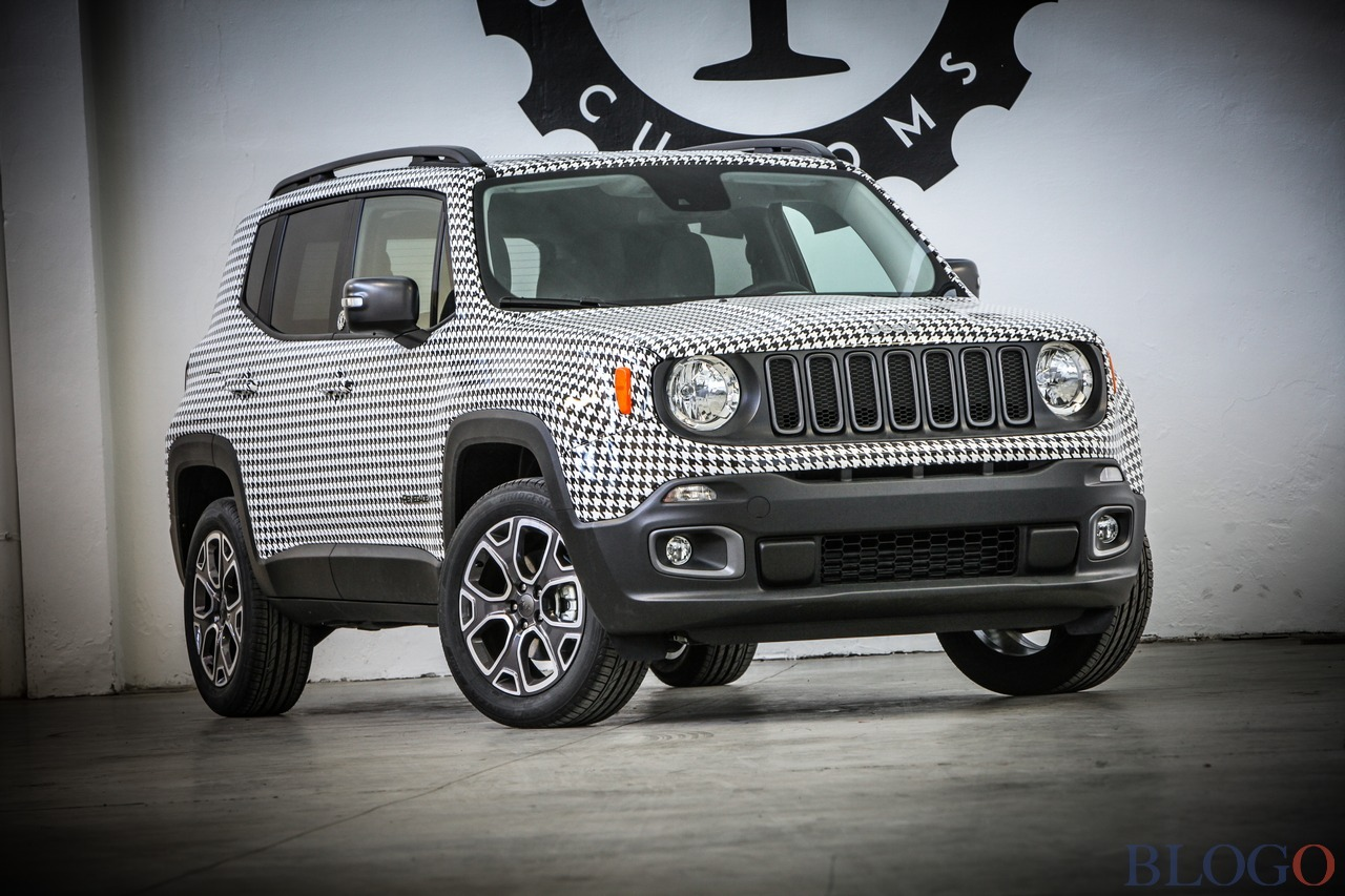 Jeep renegade womanity garage italia customs for Garage jeep nantes