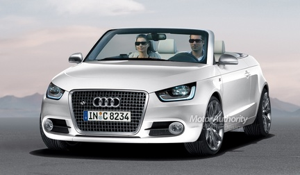 audi a1 rendering della cabriolet e 5 porte. Black Bedroom Furniture Sets. Home Design Ideas