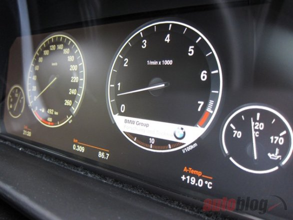 BMW nuovo LCD