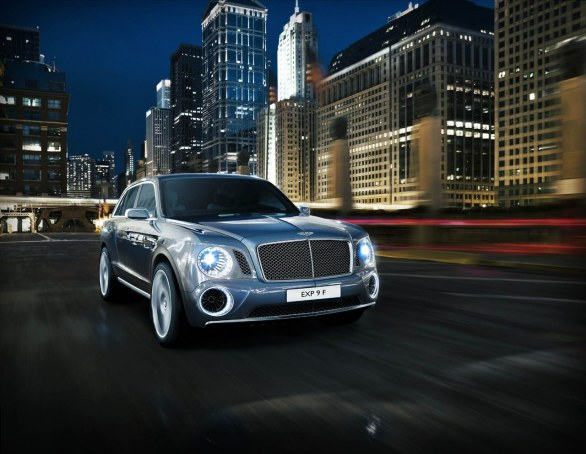 Bentley suv