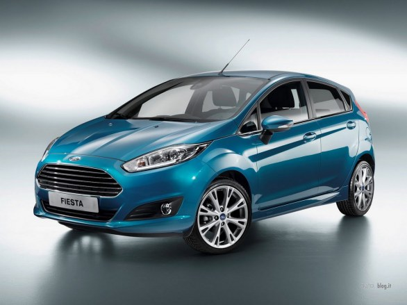 Ford Fiesta facelift restyling
