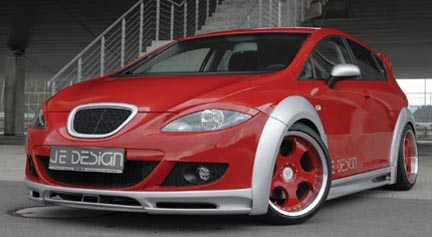 JE Design Seat Leon 1 P Wide Body