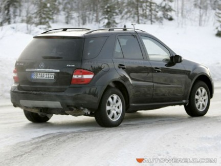 Mercedes M restyling