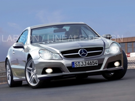Mercedes Sl Restyling