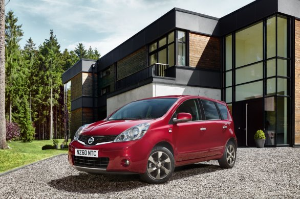 Nissan Note Model Year 2011