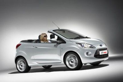 ford ka cabriolet avr il tetto in metallo. Black Bedroom Furniture Sets. Home Design Ideas
