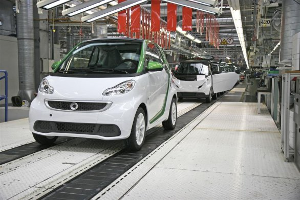 Smart fortwo electric drive hambach