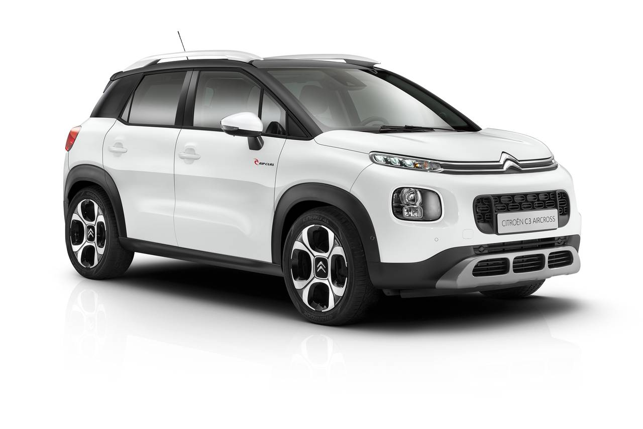 citroen c3 aircross versione rip curl per festeggiare le ottime vendite. Black Bedroom Furniture Sets. Home Design Ideas