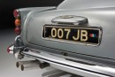 Aston Martin DB5 di James Bond in 007 Goldfinger