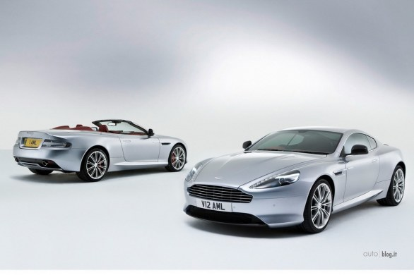 Aston Martin DB9 restyling