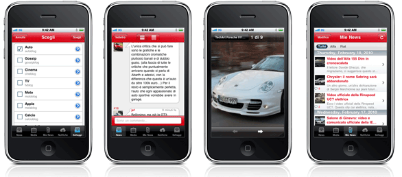Autoblog.it per iPhone