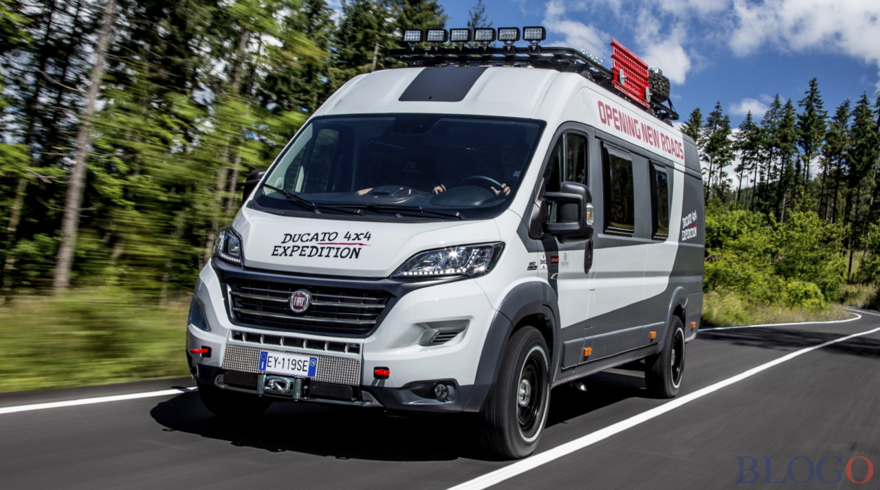 fiat ducato 4x4 expedition video foto e caratteristiche. Black Bedroom Furniture Sets. Home Design Ideas
