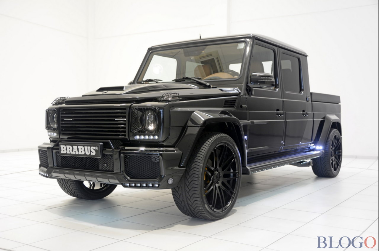 mercedes g 500 xxl pick up brabus. Black Bedroom Furniture Sets. Home Design Ideas