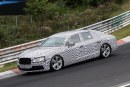 Bentley Continental Flying Spur: nuove foto spia dal Nurburgring