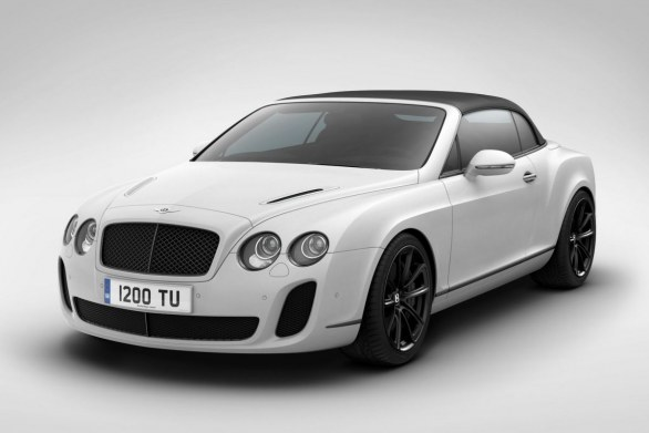 Bentley Continental Supersports Convertibile Ice Speed Record
