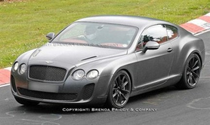Bentley Continental Supersports: le foto spia dal 'ring