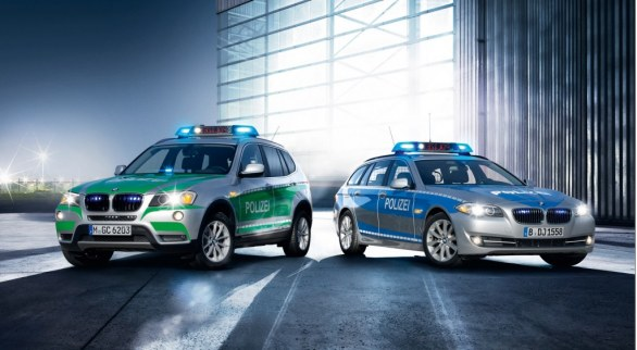 BMW blindate e per organi sicurezza