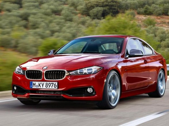 BMW Serie 4 Coupè: nuovo render