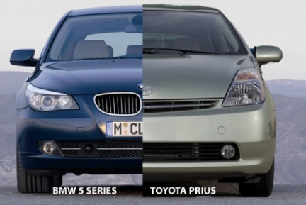 bmw vs. toyota