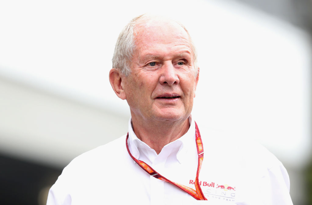 SINGAPORE - SEPTEMBER 15: Red Bull Racing Team Consultant Dr Helmut Marko walks in the Paddock before practice for the Formula One Grand Prix of Singapore at Marina Bay Street Circuit on September 15, 2017 in Singapore.  (Photo by Mark Thompson/Getty Images)