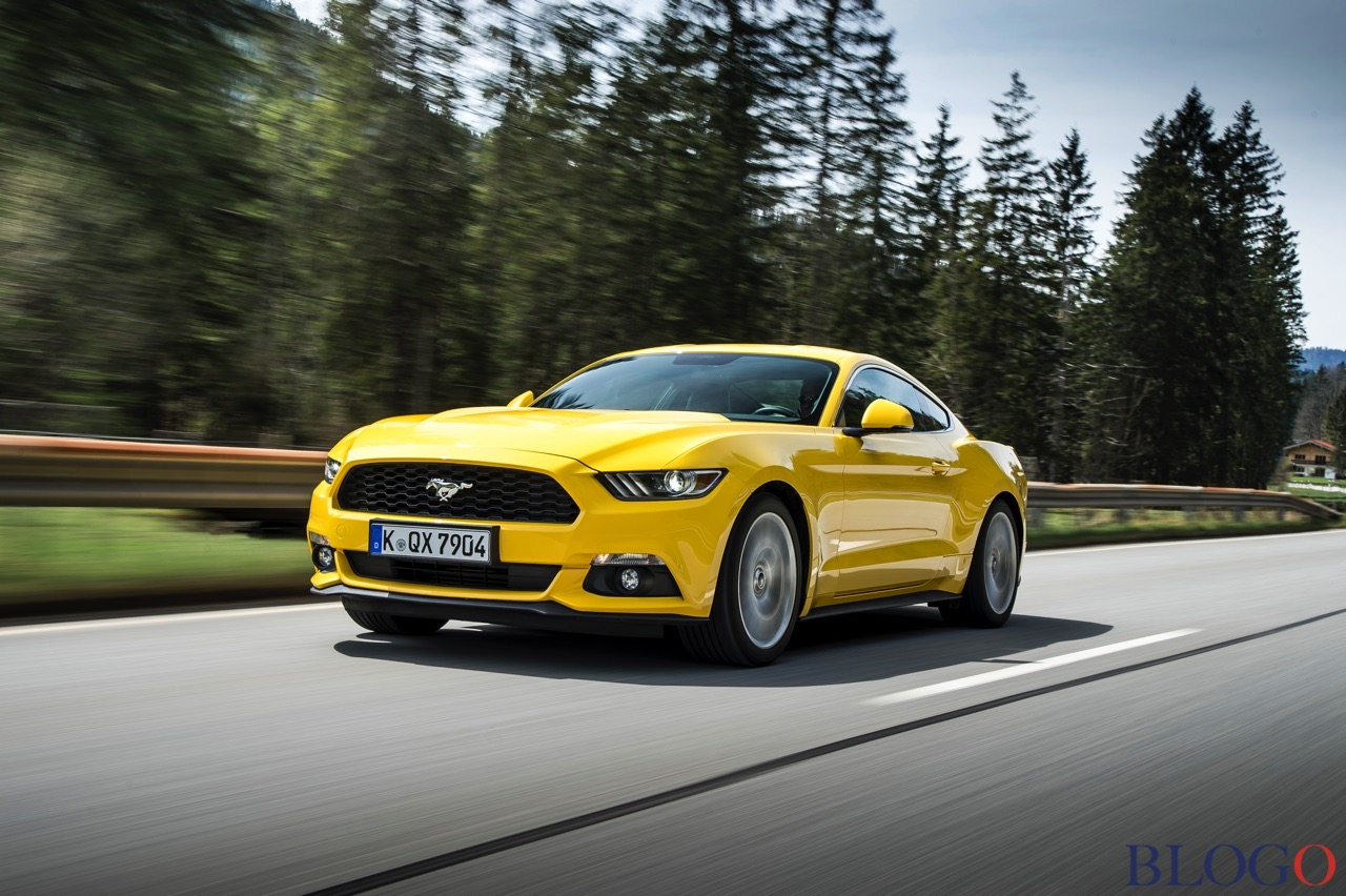 Ford mustang 2015 yellow 1 61