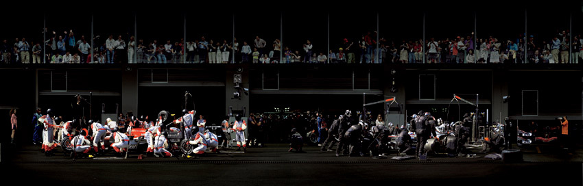 Andreas Gursky pit stop 2006