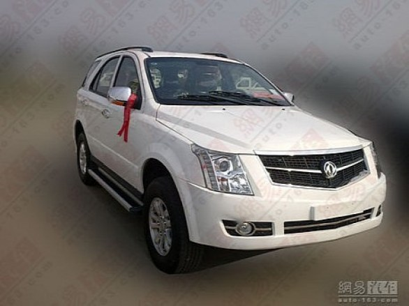 Dongfeng: clone cinese della Cadillac SRX