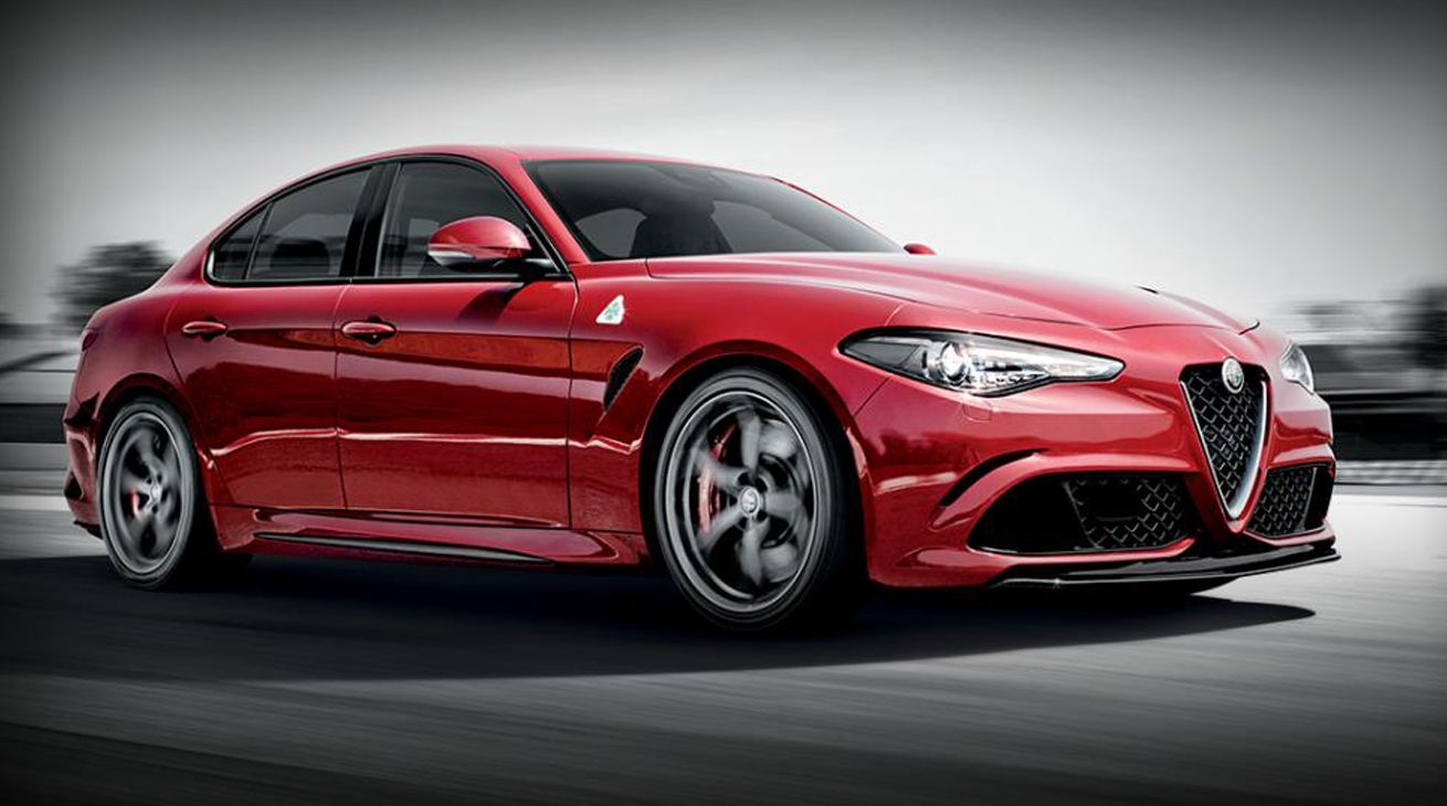 alfa romeo giulia quadrifoglio video. Black Bedroom Furniture Sets. Home Design Ideas