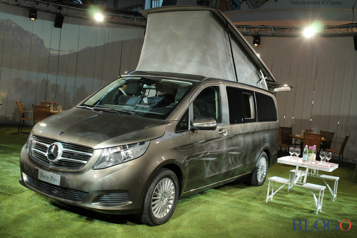 mercedes classe v marco polo il mini camper in salsa premium. Black Bedroom Furniture Sets. Home Design Ideas