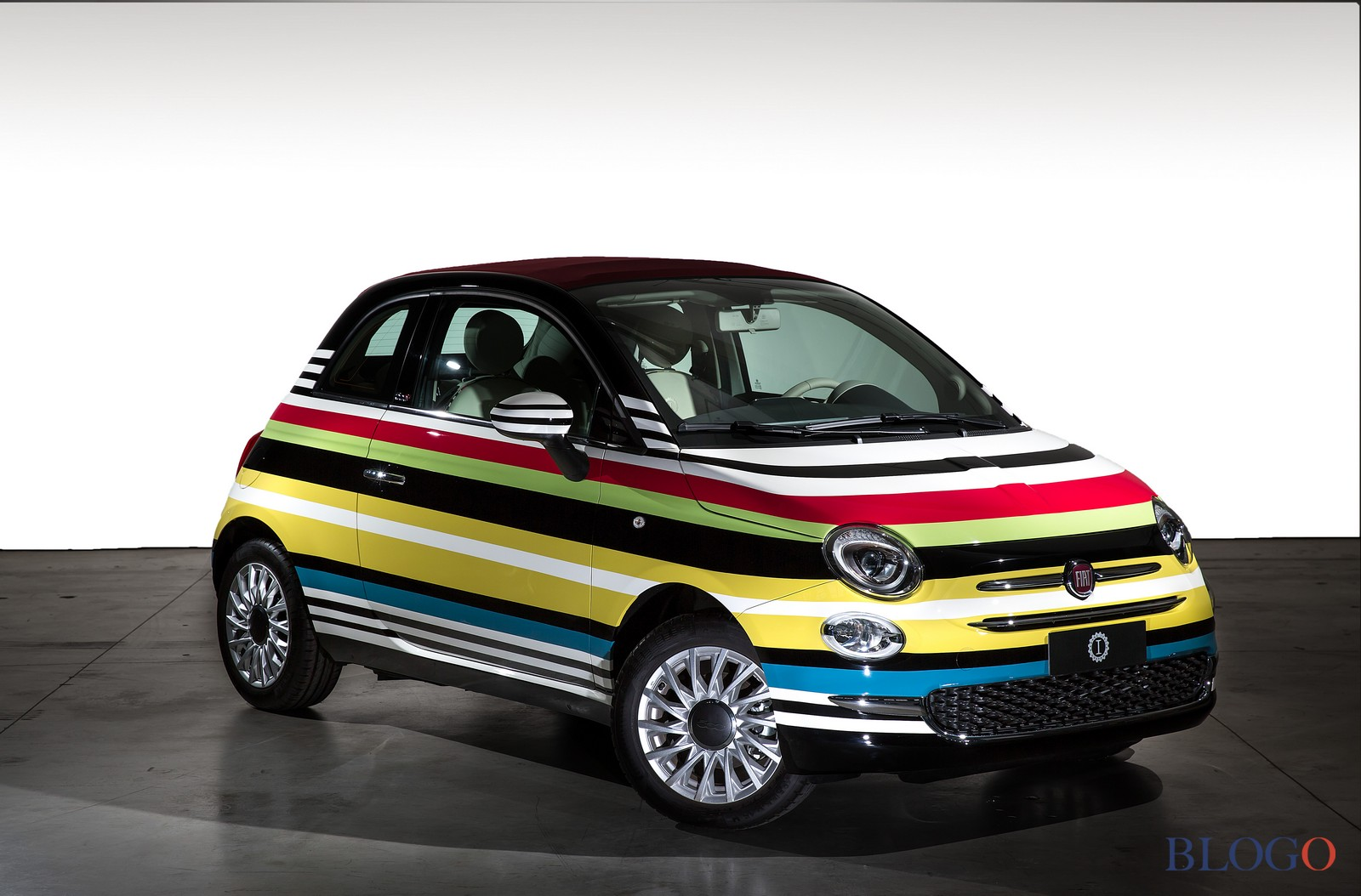 Fiat 500c missoni all 39 asta la one off di garage italia for 3 costo del garage indipendente