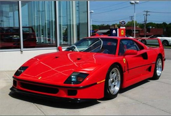 ferrari f40 f50 ed enzo in vendita contemporaneamente. Black Bedroom Furniture Sets. Home Design Ideas