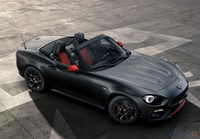 abarth 124 spider tutti i colori della sportiva. Black Bedroom Furniture Sets. Home Design Ideas