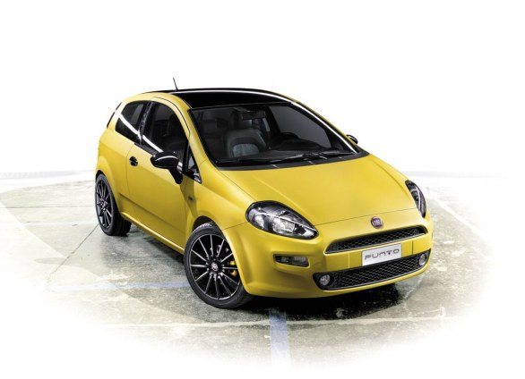 Fiat Punto Born This Way - Motor Show 2011